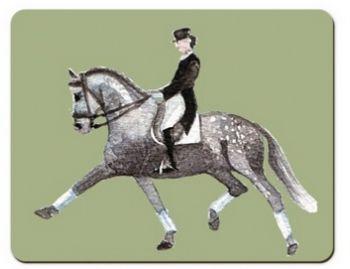 Dressage Horses Placemat
